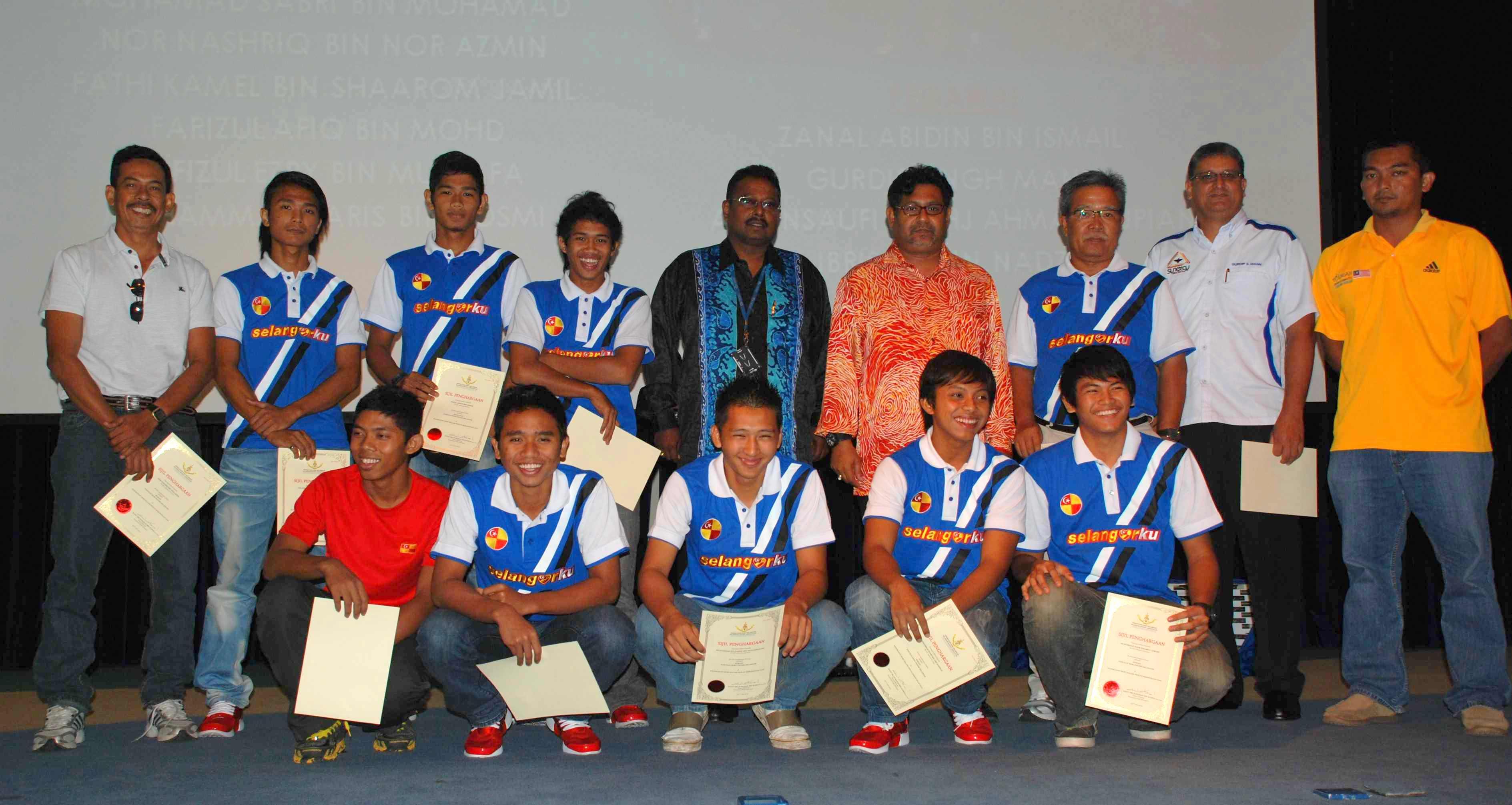 Selangor Indoor Team