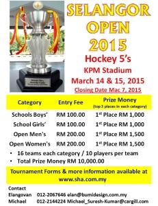 Selangor Open Poster